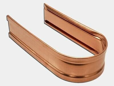 Round Copper Downspout Strap