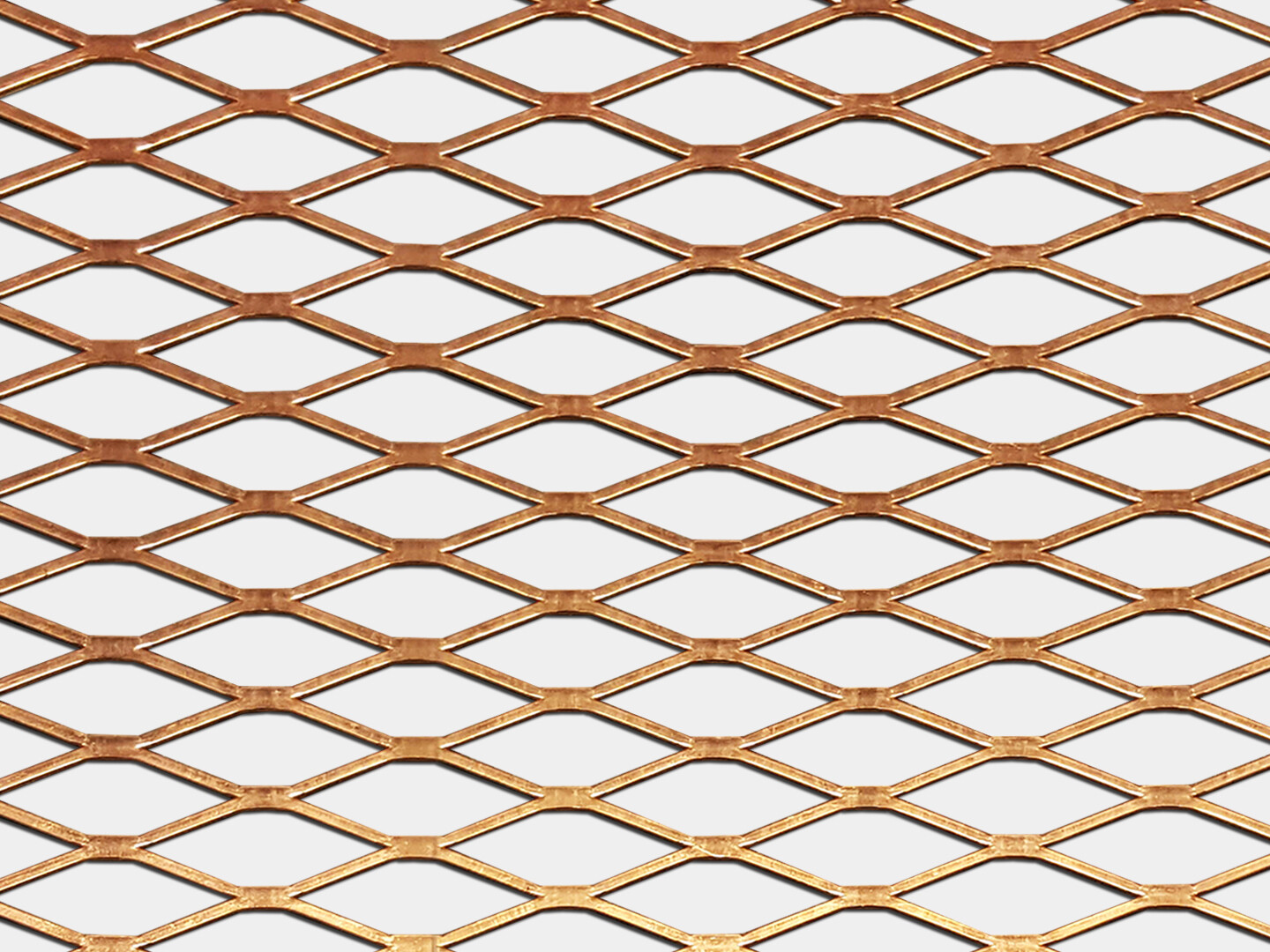 Expanded Copper Metal Screen Sheets and Coil