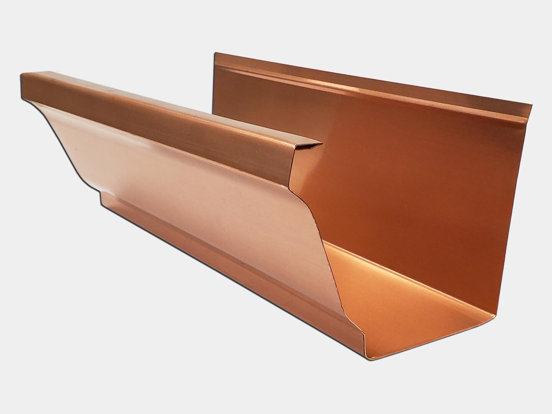 Copper K-Style Gutter / Ogee Gutter