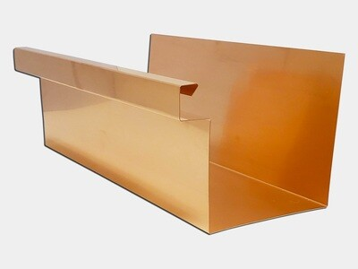 Copper Commercial Box Gutter