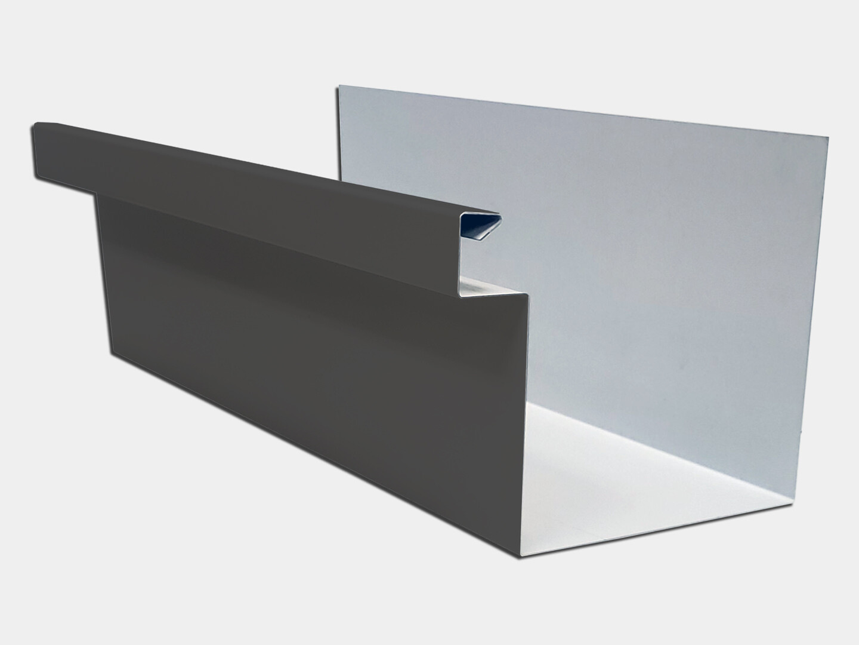 24 Gauge Kynar Steel Commercial Box Gutter
