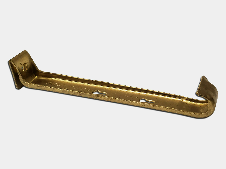 Brass Hidden Gutter Hanger - Clip Without Screw
