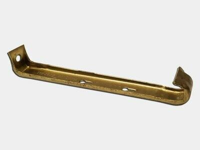 Brass Hidden Gutter Hanger - No Clip & Screw