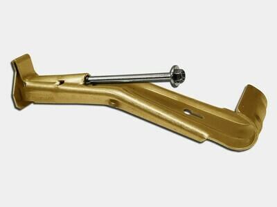Brass Hidden Gutter Hanger With Screw & Clip