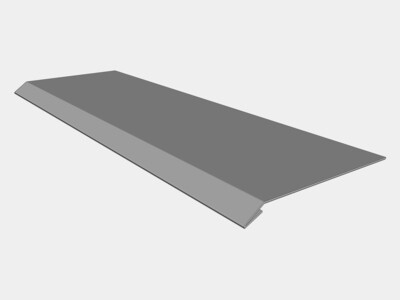 Stainless Steel Masonry Drip Edge