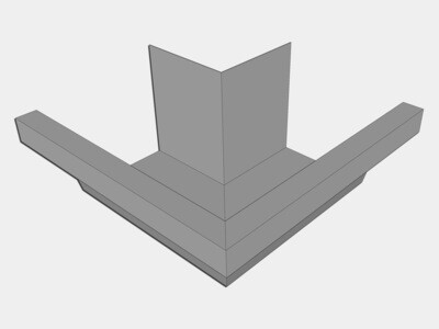 Galvalume Industrial Box Gutter Outside Miter