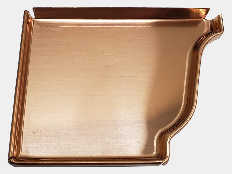 K-Style Copper Gutter Left / Right End Cap