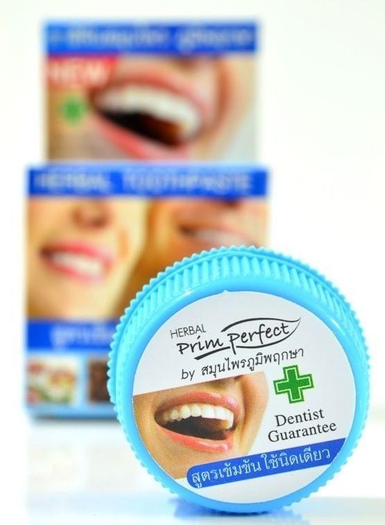 Тайская зубная паста - Prim Perfect - 25 гр