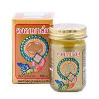 Имбирный деликатный согревающий бальзам от тайского производителя Konka Herb 50 мл