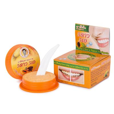 Зубная паста с экстрактом папайи 25 гр