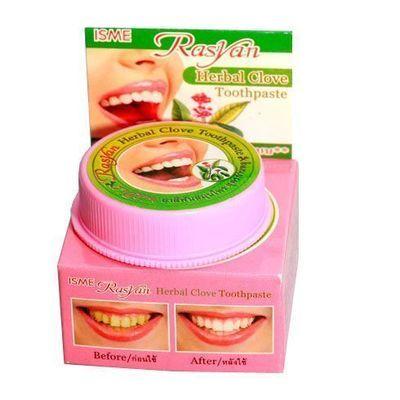 Натуральная отбеливающая зубная паста с гвоздикой 25 гр
