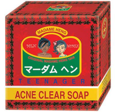 Мыло от акне Madame Heng