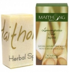 Натуральное мыло Лемонграсс 100 гр, Maithong Lemongrass Soap