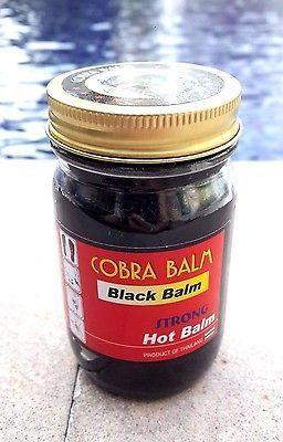 Лечебный черный бальзам из кобры 50 мл