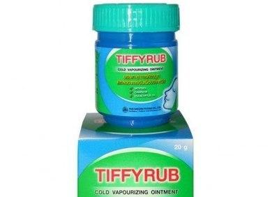 Мазь от простуды Tiffyrub с ментолом