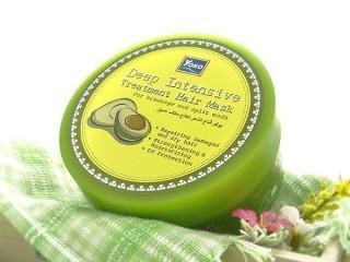 Лечебная маска для волос с авокадо