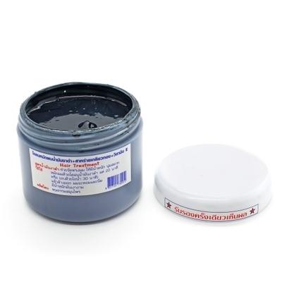 Маска с кунжутным маслом для темных волос