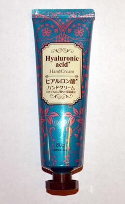 Японский крем для рук с гиалуроновой кислотой