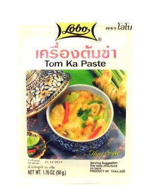 Паста для кокосового супа Том Кха