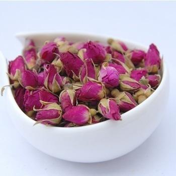Чай из бутонов розы