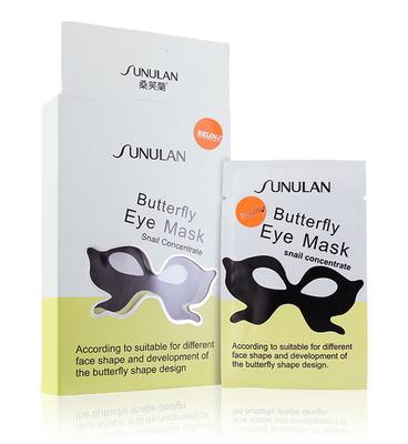 Маска-бабочка для кожи вокруг глаз со слизью улитки SUNULAN