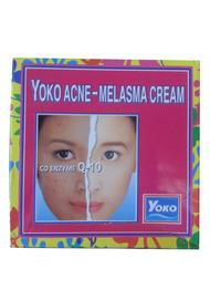 Крем отбеливающий для лица против акне и мелазмы с Q-10 Yoko 4 гр