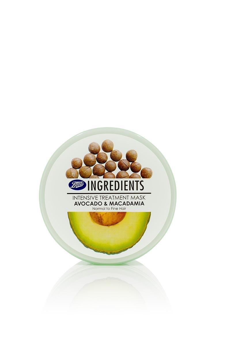 Маска для нормальных и тонких волос «Авокадо и макадамия»