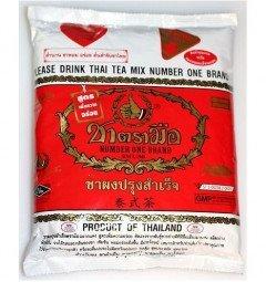 Тайский молочный черный чай
