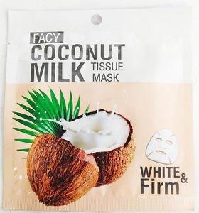 Маска для лица с кокосовыми маслом и молоком