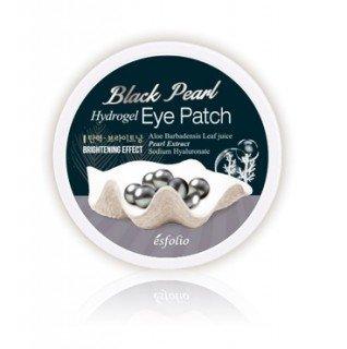 Гидрогелевые патчи для кожи вокруг глаз с черным жемчугом 30 пар