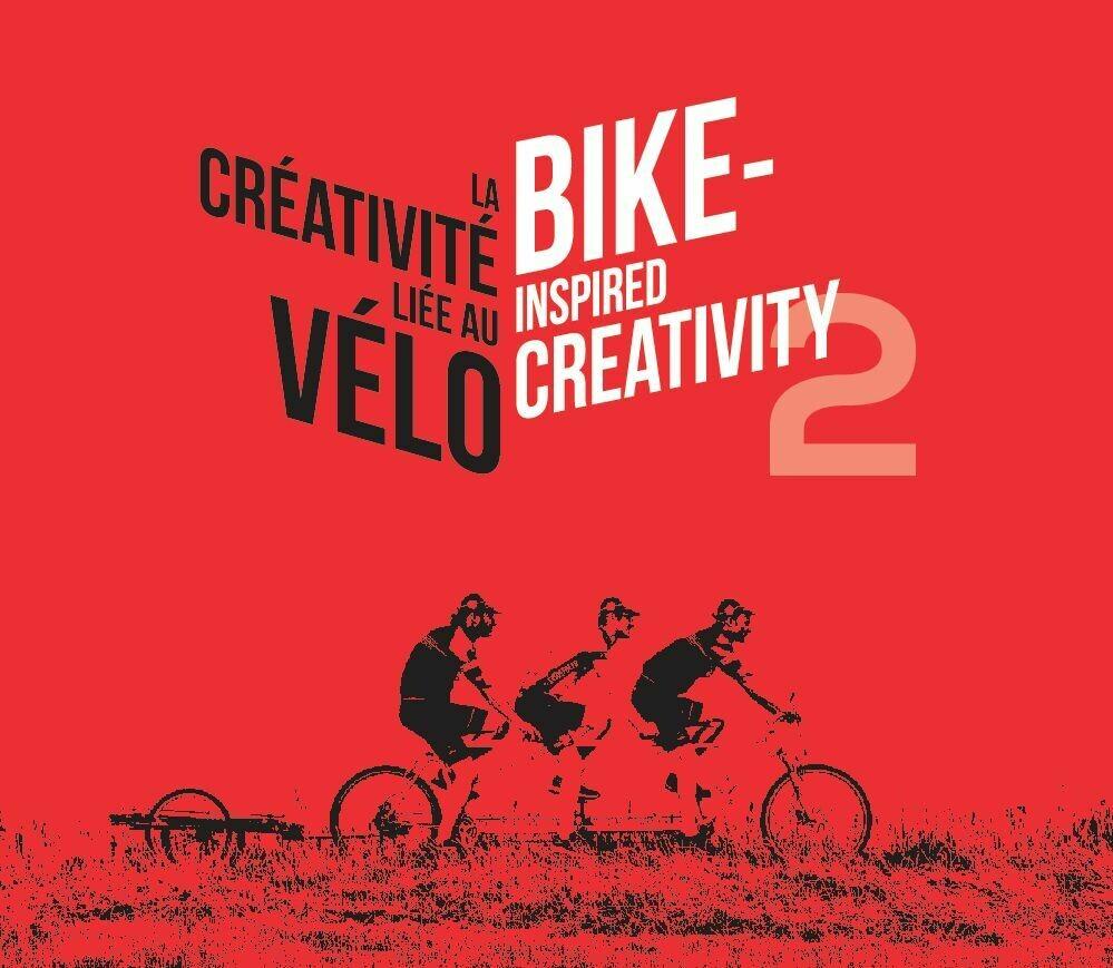 Livre - tome 2 'La créativité liée au vélo - Bike-inspired creativity'