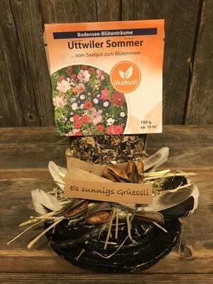 Sonniger Gruss mit Uttwiler Sommer - Samen