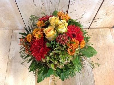 Blumenstrauss Rot-Orange