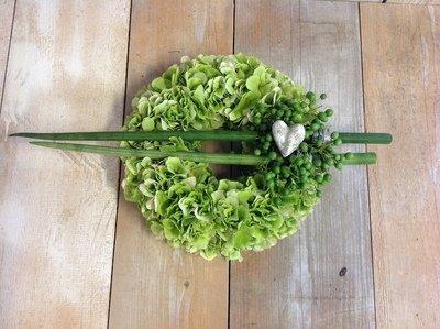 Blumenkranz weiss