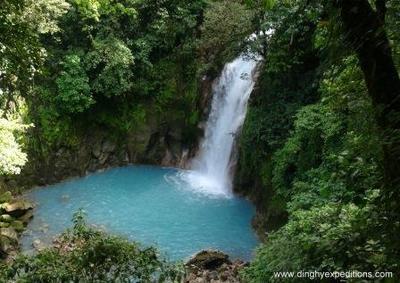 Celeste River & Tenorio Volcano National Park Hike