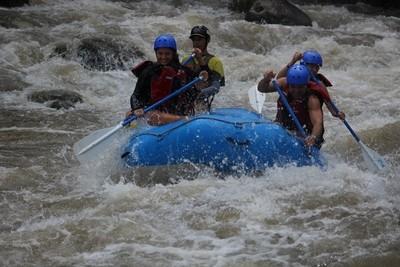 Half Day Rafting - Balsa River II-III