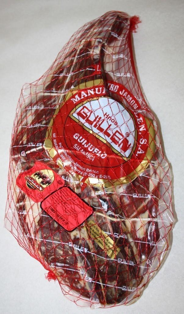 Jamón Ibérico Cebo Deshuesado - Peso aproximado: 5 kg a 5,5 kg sin contar el embalaje