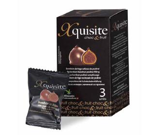 Bombones de Higos Secos - Xquisite Choc&Fruit -, recubiertos de Chocolate Negro. 3 Unid. 60g Xquisite - Gourmet by Beites