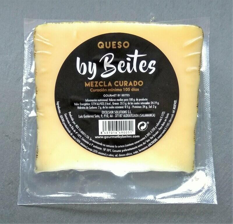 Queso Mezcla Curado cuña de 250g - Gourmet by Beites