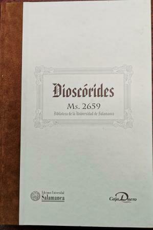 Dioscórides. De materia médica (Tesoro bibliográfico)