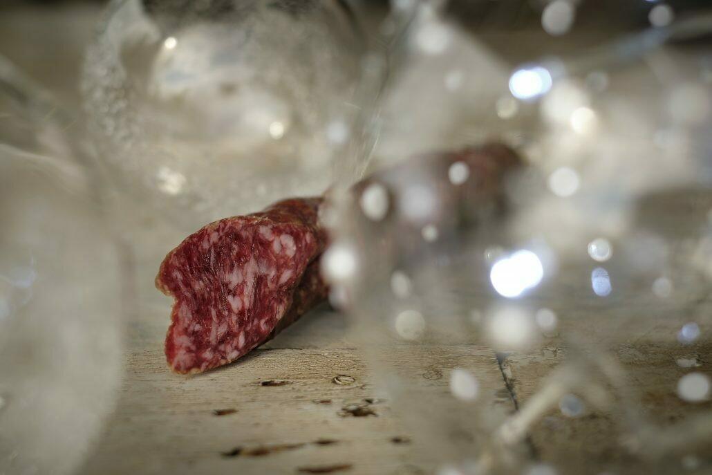Cerdos y Rosas: Longaniza al Armagnac. Edición Limitada Navidad 2020
