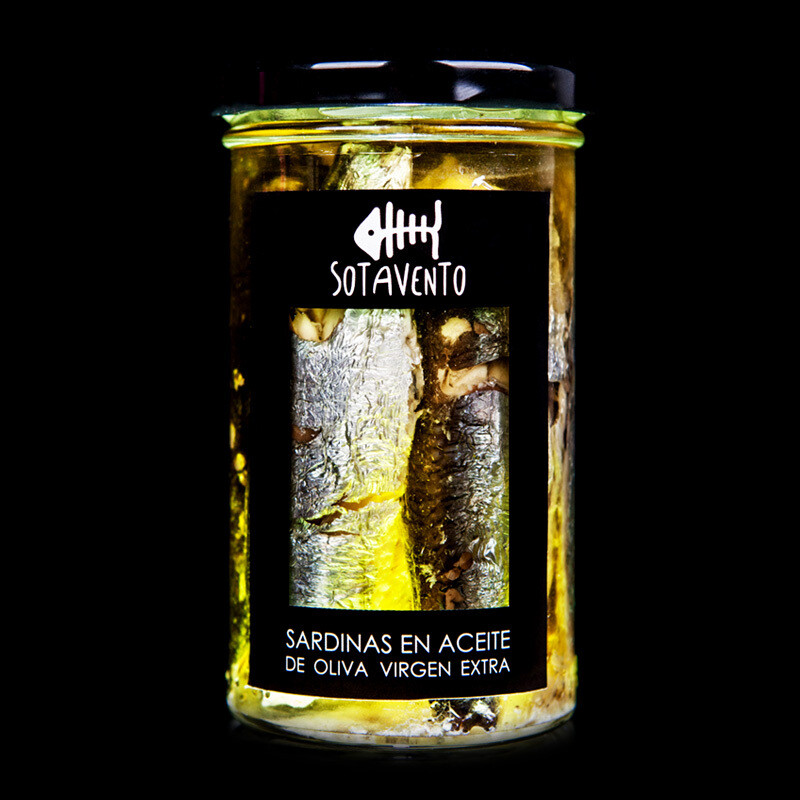 Sardinas en Aceite de Oliva Virgen Extra (AOVE) - Sotavento Conservas Artesanas