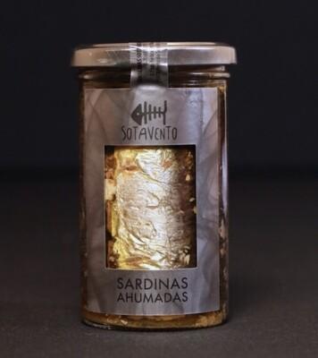 Sardinas Ahumadas en Aceite de Oliva Virgen Extra (AOVE) - Sotavento Conservas Artesanas