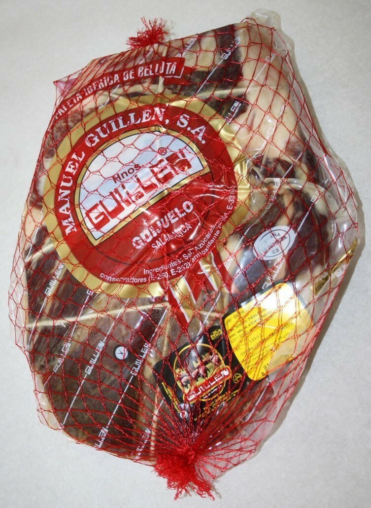 Paleta Ibérica Bellota Deshuesada - Peso aproximado: 2,2 kg a 2,7 kg sin contar el embalaje