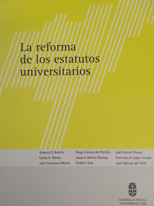 La reforma de los estatutos universitarios