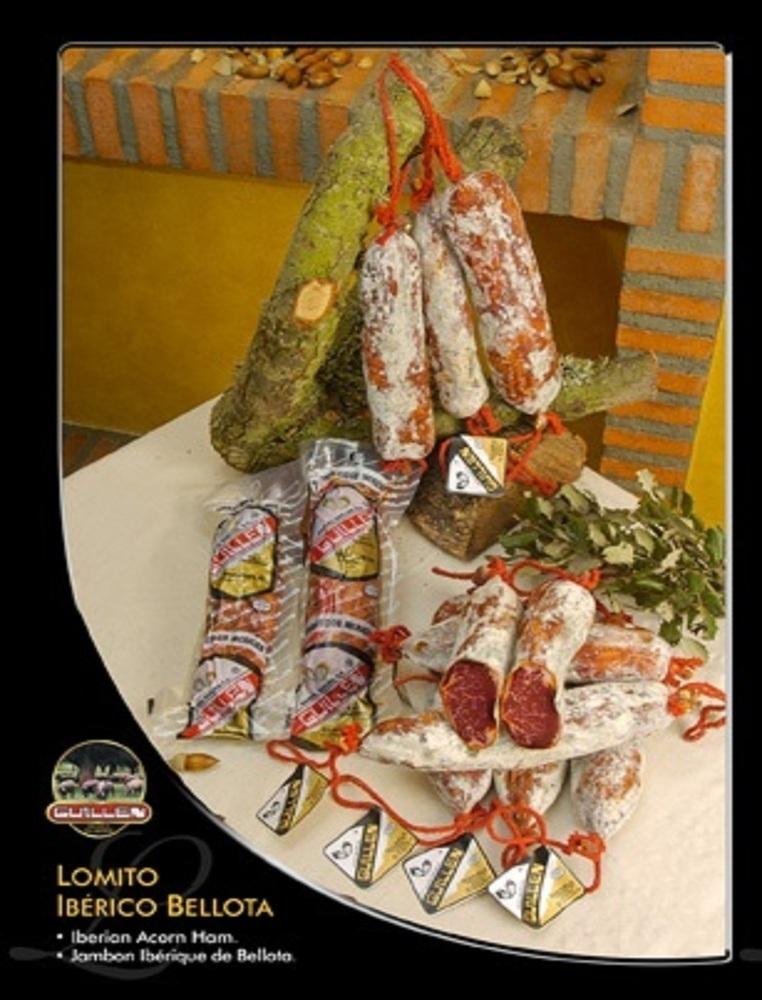 Lomito Ibérico Bellota - Peso aproximado: 400 g a 500 g sin contar el embalaje