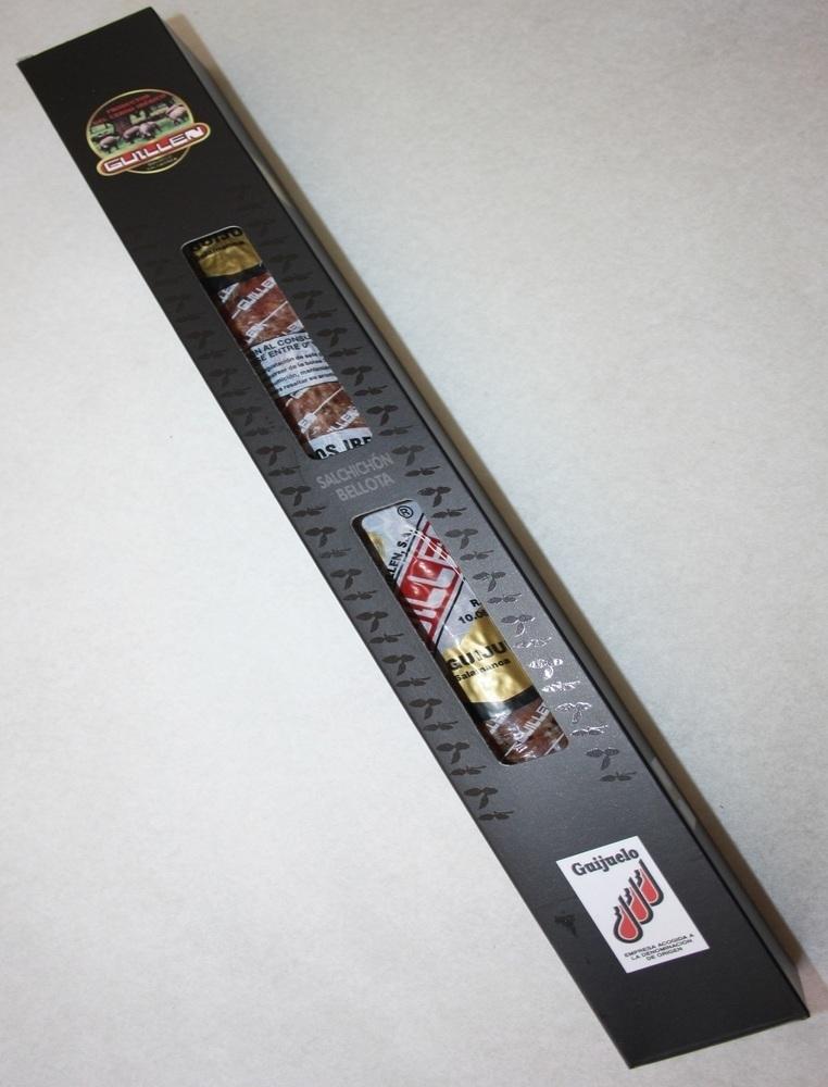 Salchichón Ibérico Vela Bellota - Peso aproximado: 450 g a 500 g sin contar el embalaje