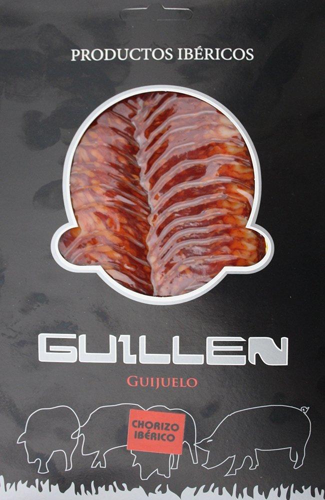 Loncheado Chorizo Ibérico Cebo - Peso aproximado: 100 g.