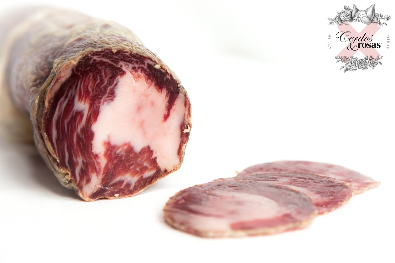 Cerdos y Rosas: Coppa Ibérica de Bellota. Peso aproximado 1,2kg