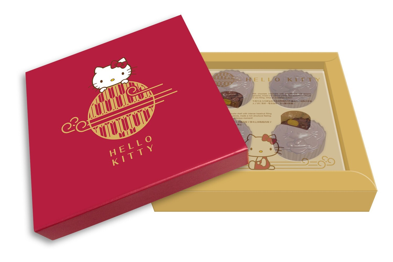 Hello Kitty Premium Chocolate Mooncake 朱古力月餅